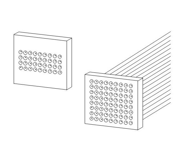 2d Fiber Array Idil Fibres Optiques