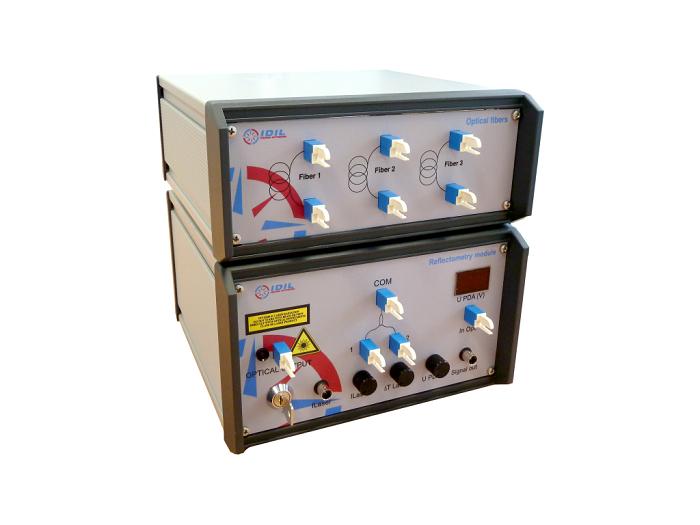 Fiber optic reflectrometry education kit