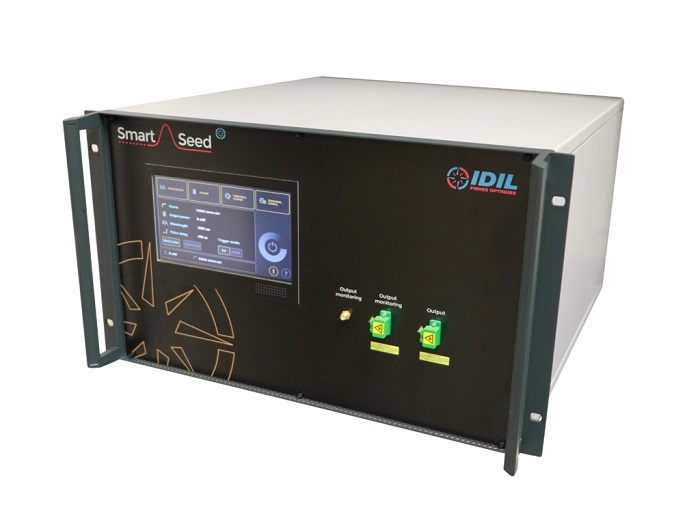 front end laser, also called seeder laser or seed laser